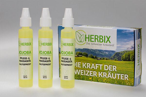 herbix das schweizer kräuteröl sparpackung jojoba